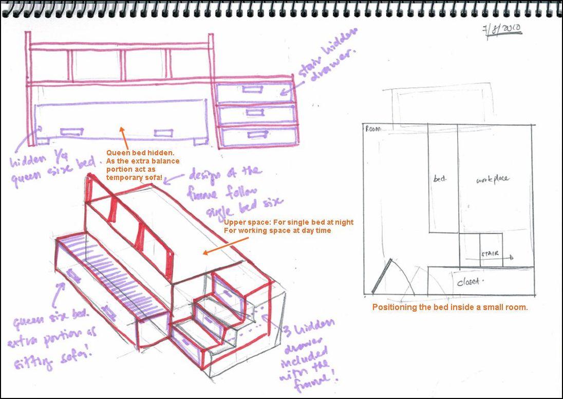 single bed | myideamydesign